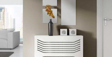 cubre radiador recibidor